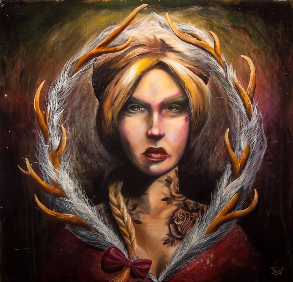 Antler Woman